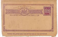 AT1 New Zealand Letter Card Postal Stationery {samwells-covers}PTS