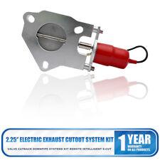 """57 mm Elettrico Valvola Scarico Controllo Lavoro Regolabile Sistema 2.25"""""""