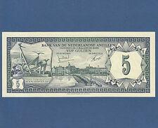 NETHERLANDS ANTILLES  5 Gulden 1972  UNC  P.8 b