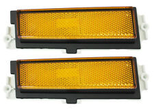 NEW Trim Parts Front Side Marker Light PAIR / FOR 1981-88 MONTE CARLO / A1678