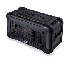 Veho VXS-001-BLK Vecto Wireless Water Resistant Bluetooth Outdoor Speaker - NEW