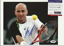 Andre Agassi Signed 8x10 Photo PSA/DNA Auto
