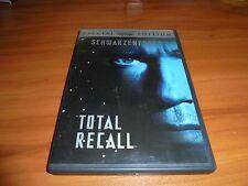 Total Recall (DVD, 2002, Special Edition Widescreen) Arnold Schwarzenegger Used