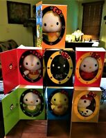 Rare Complete Set of 7 Hello Kitty McDonalds Fairy Tale Plush from Malaysia 2014