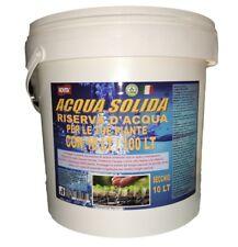 Acqua Solida 10 KG - 10 Kg Assorbono 100 Lt Di Acqua