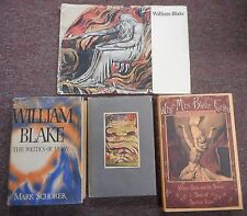 William Blake - Politics of Vision Songs of Innocence Experience Sexual 4 books