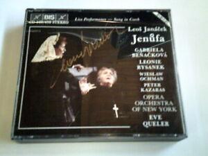 BIS CD - Jenufa - signiert von Leonie Rysanek