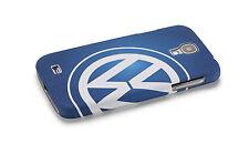 Original VW Samsung Galaxy S4 Cover Schutzhülle Blau Weiß 000051708A 274 -NEU-