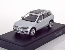 VW TOUAREG 2015 SILVER HERPA 7P1.099.300A.A7W 1/43 VOLKWAGEN SILBER ARGENT