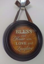 """""""Bless Our Home"""" Inspirational Wall Decoration"""