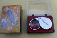 21mm Jewelers Loupe Folding Pocket Jewelry Magnifying 30X Glass Eye Magnifier