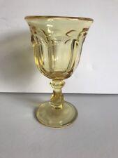Imperial Glass Ohio OLD WILLIAMSBURG YELLOW Wine Glass
