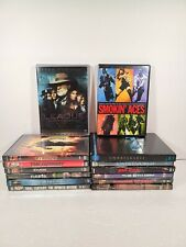 Lot of 14 Random Action Movies Dvd Sin City The 6th Day Riddick The Getaway
