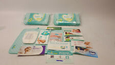 2x Pampers New Mom-to-be Registry Gift tote compact diaper bag purse green - NEW