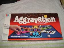 VINTAGE AGGRAVATION MARBLE BOARD GAME