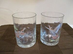 "Wild Turkey Ned Smith Double Old Fashion/Rocks Glass, 4.5"" Tall/14 oz (2 pcs)"