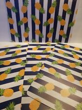 NEW~SET OF 4 PINEAPPLE THEMED PLACEMATS
