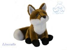 Sitting Fox Cub Plush Soft Toy by Dowman Soft Touch. Sold by Lincrafts. RA214