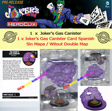 DC COMICS HEROCLIX JOKER'S WILD OP KIT ESPAGNOL CARTE Sans Gaz Boîte métallique