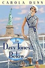 To Davy Jones Below by Carola Dunn (Paperback)