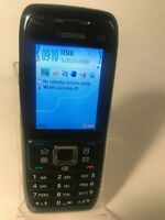 Nokia E51 - Black Steel (Unlocked) Smartphone Mobile