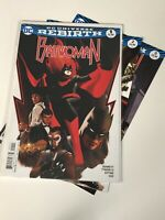 BATWOMAN DC UNIVERSE REBIRTH #1 -#3 COMIC BOOK BATMAN SUPER HERO