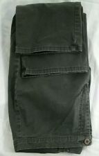 Calvin Klein Jeans Olive Khaki Pants Women's Waist 28 Inseam 28 Flat Fitted EUC