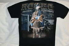 COWBOY BULL RIDER RODEO THE KING OF EXTREME SPORTS T-SHIRT