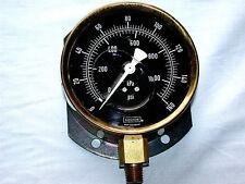 Vintage DURAY NOSHOK Germany Incased in Water Air Pressure Meter
