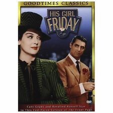 His Girl Friday (DVD) with Cary Grant and Rosiland Russell