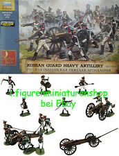 1:72 personnages 8045 Russian Guard Heavy Artillery 1812-1814 - Zvezda