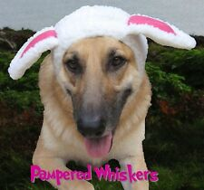 """The Sheepish One sheep costume for large dogs 16-22"""" collar size"""