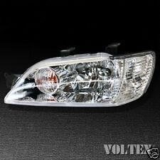 2002-2003 Mitsubishi Lancer Headlight Lamp Clear lens Halogen Driver Left Side