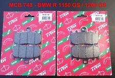 2x Lucas MCB 748 Bremsbeläge BMW R 1150 GS, R1150GS, R 1200 GS, R1200GS, neu