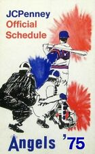 1975 California Angels Pocket Schedule (J.C. Penney) - EXCELLENT