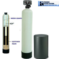 Whole House Water Softener & Conditioner 1.5 cu ft + KDF 55 MediaGuard 10x54""