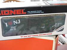 1990 Lionel 6-19909 I Love New Jersey Box Car New L0815