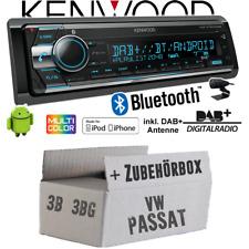 JVC kwv240bt radio 2 DIN para VW Passat b5//3b b5//3bg 1996-2005