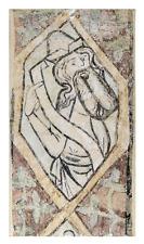 1288-Wandmalerei mit Propheten aus Lübeck, Katharinenkirche