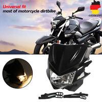 Frontscheinwerfer Street Fighter Scheinwerfer Maske Licht Für Motorrad Dirt Bike