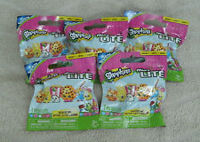 Shopkins Micro Lites Series 1 Mystery Pack Set Of 5 ~ NEW