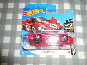 2021 Hot Wheels '67 FORD GT40 MK.IV HW Race Day Red on Short Card new