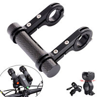 Cycle Flashlight Holder Handle Bicycle Accessories Extender Mount Bracket Stand