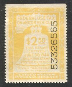 Motor Vehicle Use Tax revenue Scott RV24