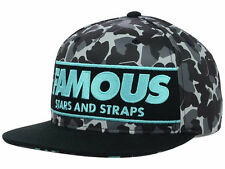 "Famous Stars & Straps ""Camo Box"" Snapback Cap - One Size Fits All, Unisex, NEW"