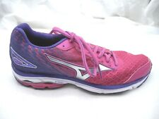 Mizuno sz 8.5M Wave Rider 19 pink purple running womens ladies athletic sneakers
