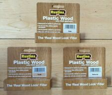 RUSTINS PLASTIC WOOD FILLER FOR CRACKS AND HOLES INTERIOR AND EXTERIOR - 20g