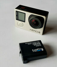 DEFECTIVE Silver GoPro HERO 4 Black Edition 4K Action Camera Camcorder -NO POWER