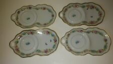 Vintage Hand Painted Nippon Snack Plates (4)