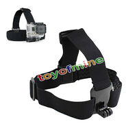 Elastic Adjustable Head Strap Mount Belt for GoPro Hero 4 3+ 3 2 1 Sport Camera